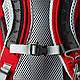 Вместительный, удобный рюкзак на 24 л. Osprey Stratos 24 O/S красный, фото 6