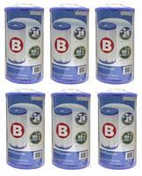 Картридж фильтра тип «B» Intex 29005(6 штук)