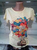 Яркая женская футболка (много моделей) , фото 1