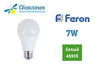 Светодиодная лампа Feron LB-707 7w 230v E27 4000К (Нейтральный)