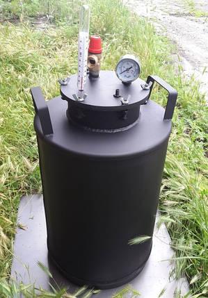 Автоклав бытовой 10 литровых банок или 24 пол-литровых окрашенный металл, фото 2
