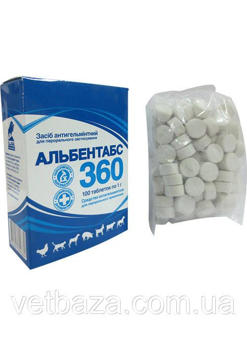 Альбентабс-360  36% таблетки №100 (O.L.KAR.)