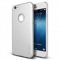 Чехол VERUS черный IPhone 6/6S (белый бампер)
