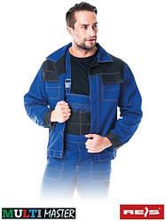 Куртка рабочая мужская синяя форма REIS Польша (униформа спецодежда роба) MMB NB