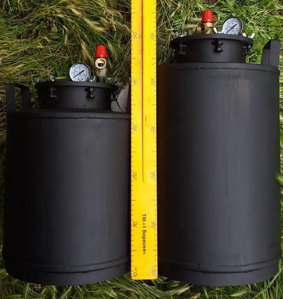 Автоклав 5 литровых или 16 пол-литровых окрашенный металл, фото 2