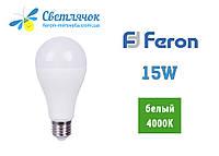 Светодиодная лампа А70 Е27 15W Feron LB-715 4000K (Нейтральный)