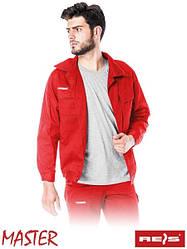 Куртка Master рабочая мужская красная REIS Польша (форма рабочая спецодежда ) BM C
