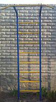 Шведская стенка с турником металлическая