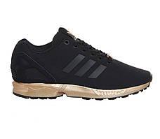 Кроссовки Adidas ZX Flux Black Metallic Copper
