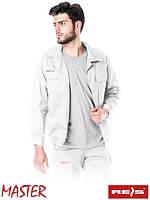 Куртка Master рабочая мужская белая (униформа спецодежда рабочая) BM W