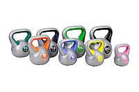 Набор с 8 гирь виниловых Hop-Sport 78кг для дома и спортзала