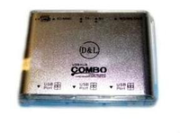 Картридер&хаб KR-CB004 (COMBO)