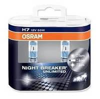 Лампа Osram 64210 NBU-HCB H7 55W 12V Px26d BOX (2шт) +110%