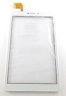 Оригинальный тачскрин / сенсор (сенсорное стекло) с рамкой для HK80DR2798-V01 (белый цвет)