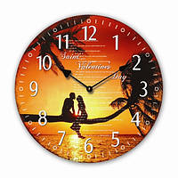 Настенные  кварцевые часы МДФ  34 см