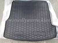 Коврик в багажник Volkswagen Passat B5 универсал (AVTO-GUMM) резина+пластик