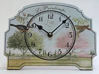 """Оригинальные настольные интерьерные часы  """" Прованс """""""