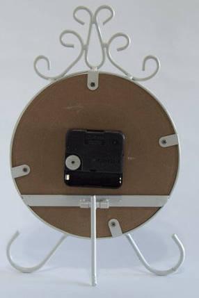 Часы  настольные оригинальные интерьерные  металлические, фото 2