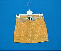 Детские джинсовые юбки для девочки 1-5 лет, Детская джинсовая юбка