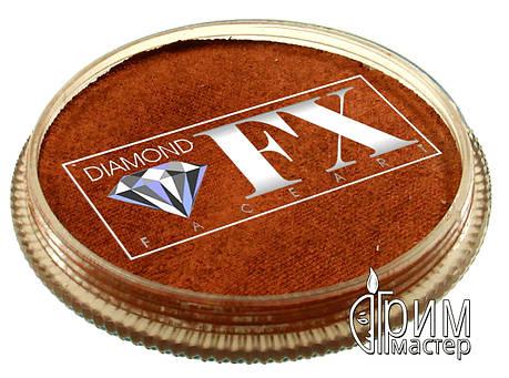 Аквагрим Diamond FX металлик медь, фото 2
