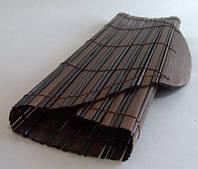 Подставка под горячее бамбуковая овальная