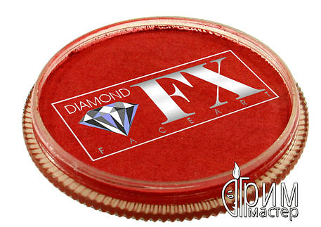 Аквагрим Diamond FX металлик красный, фото 2