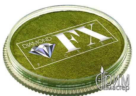 Аквагрим Diamond FX металлик бронза, фото 2
