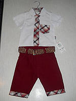 Нарядный  летний костюм мальчик 1 2 года