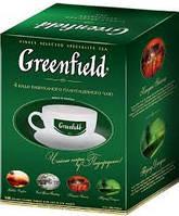 Подарочный чай Greenfield с чашкой (4 вида по 25 пакетов)