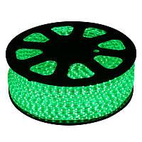 LED лента 5050 Green 100m, светодиодная лента, дюралайт бухта