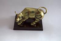 Атакующий бык (Бык с Уолл - Стрит) статуэтка интерьерная