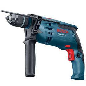 Дрель ударная Bosch GSB 1600 RE (быстрозажимной патрон) (0601218121)