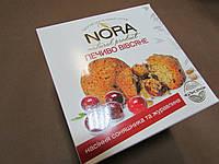 """Печенье овсяное натуральное Nora  """"Семечка с клюквой"""", 250 гр"""
