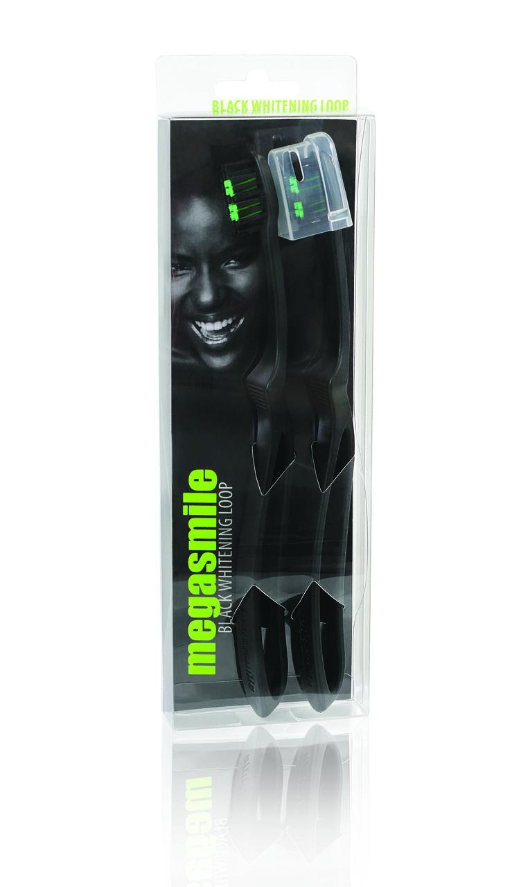 Зубна щітка Megasmile Блек Вайтенинг 2 шт. в упаковці