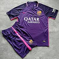 Футбольная форма Барселона фиолетовая сезон 2016-2017