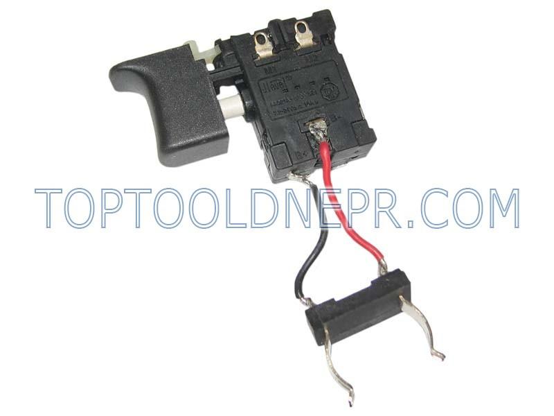 Кнопка для шуруповерта аккумуляторного Титан ПДША 12-2, Craft CAS 18-AM