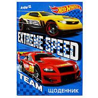Щоденник шкільний Hot Wheels українська мова, фото 1