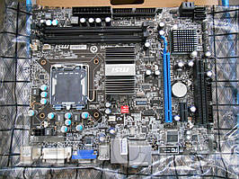 MSI G41M-P25 (RTL) LGA775 < G41> PCI-E+SVGA DVI+GbLAN SATA MicroATX 2DDR-III