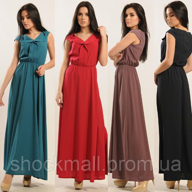 eaee25c368b Шифоновое платье в пол
