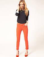 Джинсы Wrangler Premium Patch Sadie Skinny, Orange, фото 1