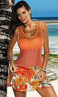 Яркое пляжное платье (S-L в расцветках)