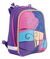 Рюкзак + пенал в подарок- каркасний H-12 Colours, 38*29*15