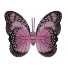 Крылья Бабочки пятнистые розовые 42х48см