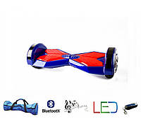 Гироскутер Lambo 8′ синий (Led, Bluetooth, пульт, сумка)