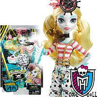 Кукла монстер хай Лагуна кораблекрушение Monster High Shriekwrecked Ghouls Lagoona Blue