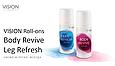 Roll-on gel Leg Refresh - гель VISION для ног, фото 6