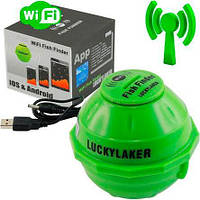 Fish finder Lucky FF-916 luckylaker  wi-fi эхолот беспроводной