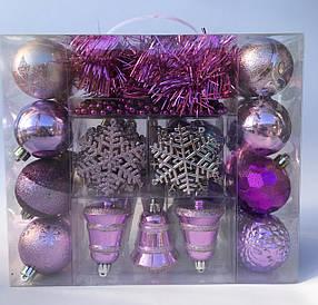 Набор шаров в чемодане 64 предмета