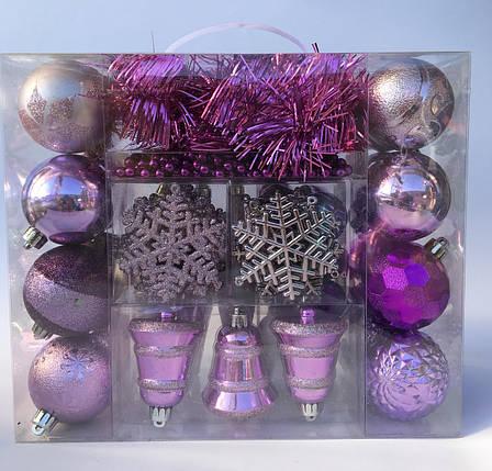 Набор шаров в чемодане 64 предмета, фото 2