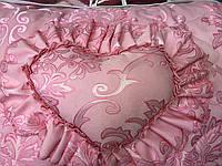 Покрывало / покривало + 3 подушки 3 стор. жаккард 170*200 (2921) TM KRISPOL Украина